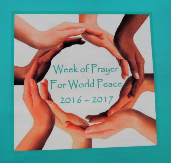 Week of Prayer for World Peace - Anglican Pacifist Fellowship